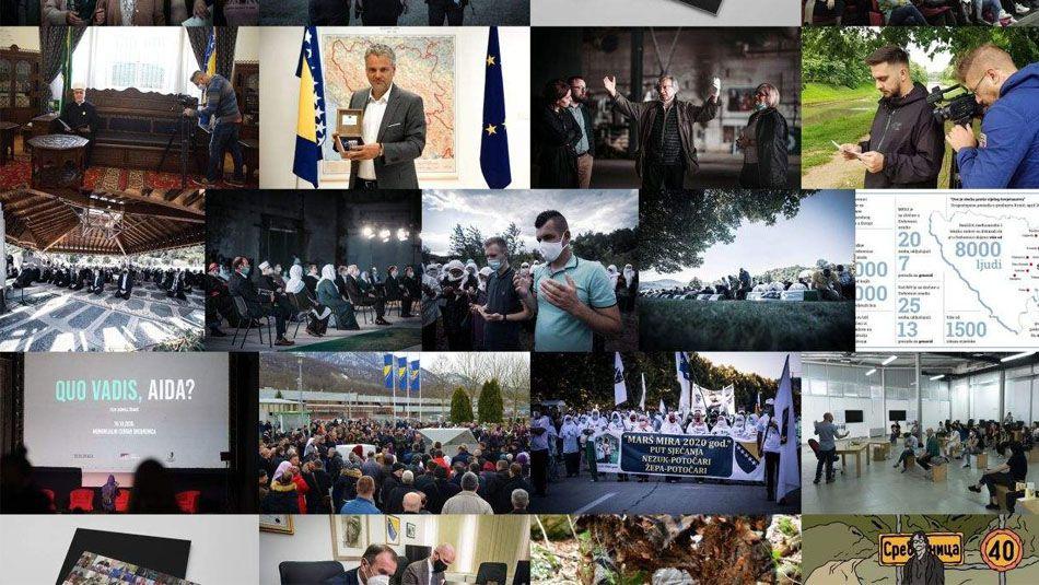 """<p>Iz Memorijalnog centra su još jednom istakli spremnost za prenos dobrih praksi i znanja prema drugim ustanovama u zemlji i regiji, te naglasili važnost međusobne potpore u čuvanju sjećanja ne žrtve genocida i druge nevine žrtve ratnih zločina u Bosni i Hercegovini.<br />""""U ovoj godini smo napravili veliki iskorak u osiguranju dodatnog finansiranja važnih istraživačkih projekata i projekata obnove. Zahvalni smo Evropskoj uniji na podršci obnovi dijela upravne zgrade, također Britanskoj ambasadi na početku saradnje i podrške aktivnostima jačanja razvojnih kapaciteta Memorijalnog centra. Domaće institucije, od državnog do lokalnog nivoa, su podržale naše programe. Imali smo izvrsnu saradnju sa """"BhB"""" fondacijom iz Salzburga na realizaciji publikacije """"Srebrenica. Genocid. 25 godina poslije"""", sa HBS-om oko monitoringa slučajeva negiranja genocida i našeg Izvještaja o negiranju genocida u Srebrenici. Zahvaljujući podršci člana Predsjedništva BiH Šefika Džaferovića organizovali smo online konferenciju povodom potpisivanja Dejtonskog mirovnog sporazuma """"Čuvamo mir, sjećamo se žrtava genocida"""" i objavili publikaciju """"Sjećanje na genocidu: Poruke civilizacije"""". Brojni su primjeri kompanija i građana koji su uplatili privatne donacije, te im također izražavamo zahvalnost"""" kazao je u osvrtu na segment prikupljanja donacija direktor Memorijalnog centra Emir Suljagić.</p> <p>Direktor Memorijalnog centra je istakao važnost projekata na kojima su radili članovim Memorijalnog centra Srebrenica u posljednjih godinu dana.</p> <p>""""Početkom godine smo pokrenuli projekat """"Priče o nama: Srebrenica"""", koji je naša Almedina Pašić realizirala sa srednjim školama u Kantonu Sarajevo, kao program usmene historije sa srednjoškolcima, koji smo zbog pandemije realizirali u manjoj mjeri nego što je planirano. No, pokazali smo tim radionicama i predavanjima važnost izlaska iz Potočara prema novim generacijama širom zemlje koja žele da uče i saznaju. Azir Osmanović i naš vrijedni tim istraživača je"""