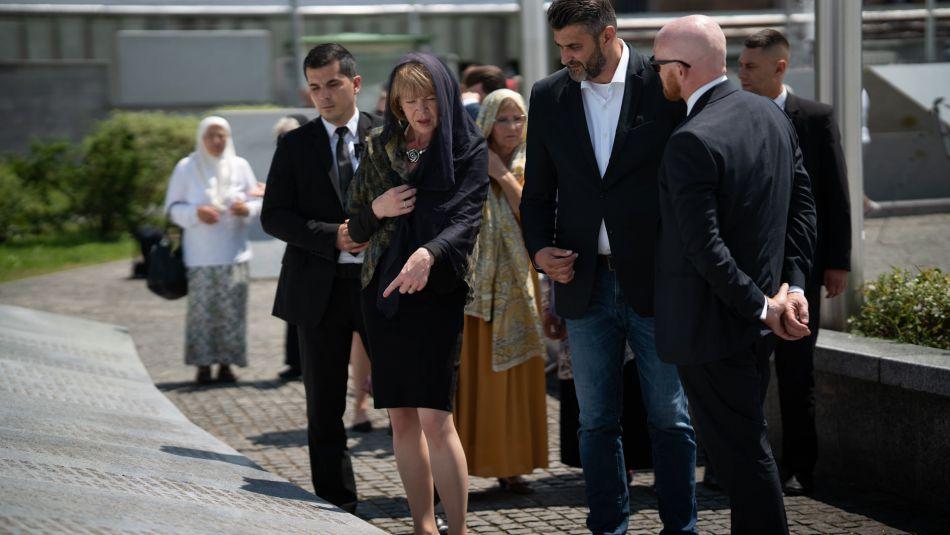 Wendy Morton I  Matthew Field odali su počast žrtvama genocida u Srebrenici