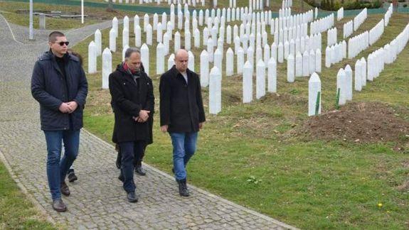 Member of Parliament of Croatia Veljko Kajtazi visited Srebrenic