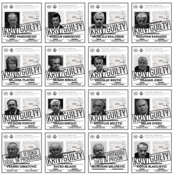 Genocide through criminal convictions