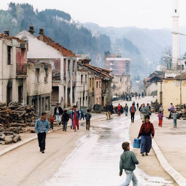 """<p>On May 9th, following the murder of more than 60 Bosniaks from Srebrenica and the surrounding villages in a single day, the ARBiH Territorial Defense forces liberated Srebrenica from Bosnian Serb control. Srebrenica became one of the few free territories or enclaves in eastern Bosnia, and by the end of 1992, was a refuge for Bosniaks across the region fleeing terror and violence at the hands of the VRS. By the spring of 1993, this influx of refugees had increased the population of the enclave to well over 50,000 people.</p> <p>From the start of the war in BiH, Srebrenica was under constant attack by Bosnian Serb forces. Those wounded in the violence often suffered a worse fate than death, as the city hospital had only six doctors, and virtually no access to basic medical supplies. Hunger was the defining feature of life in the enclave, as pre-war food supplies were rapidly depleted and people began to eat anything they could find. The Venezuelan Ambassador to the UN, Diego Arria, visited the enclave in the spring of 1993, and described the situation in Srebrenica as a """"slow-motion genocide.""""</p>"""